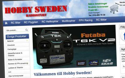 Hobby Sweden Radiostyrt