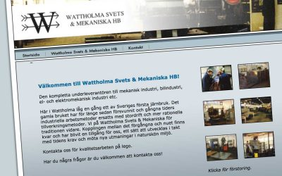Wattholma Svets & Mekaniska HB